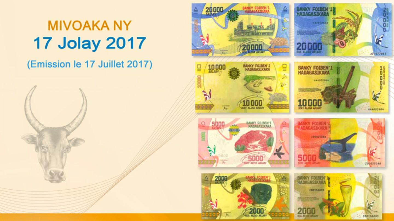 billet de banque 2017