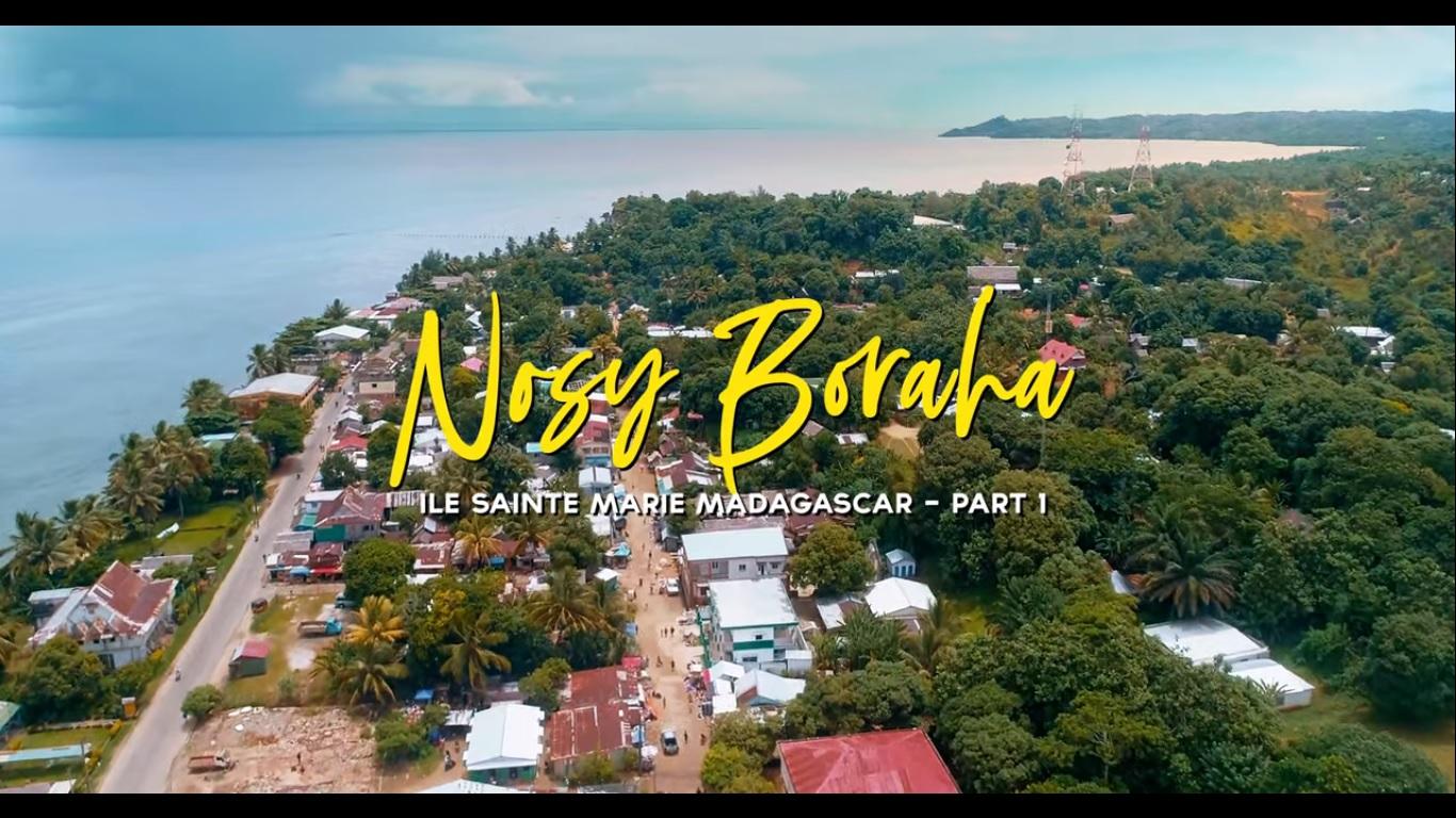 VIDEO. Une magnifique vidéo de Nosy Boraha (Sainte Marie) vue du ciel