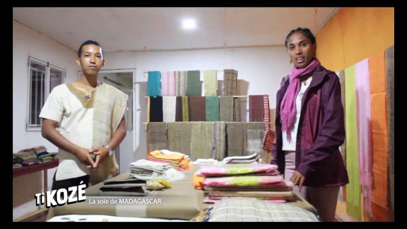 VIDEO. Un reportage sur la fabrication ancestrale de soie à Madagascar
