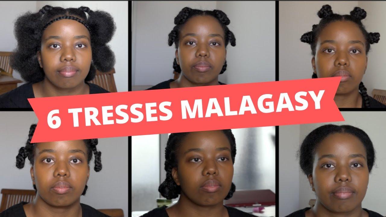 VIDEO. Six exemples de coiffures tressées typiquement malgaches