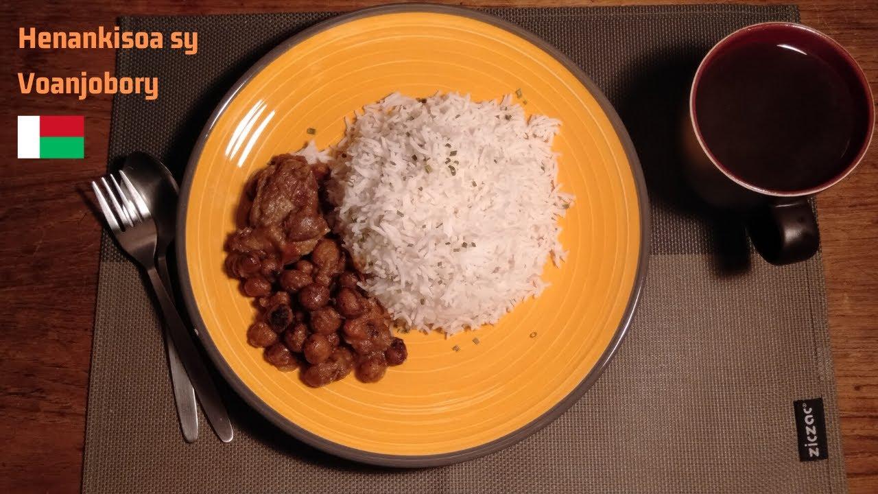 VIDEO. La recette du voanjobory accompagné de viande de porc