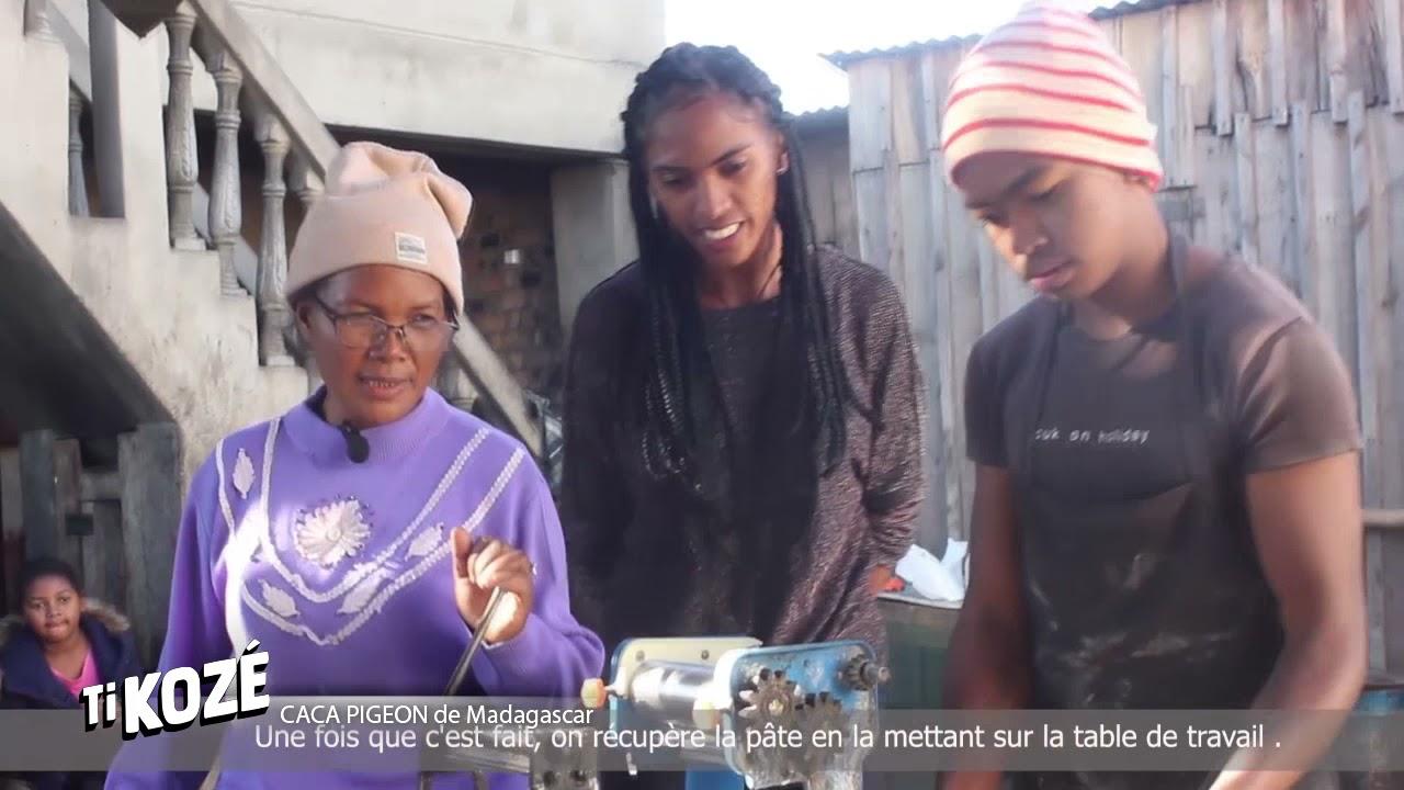 VIDEO. Un reportage sur le secret de la recette du caca pigeon de Madagascar